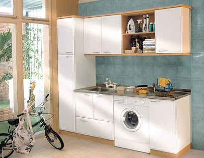 M nica dise os otro lavadero elegante y pr ctico for Modelos de lavaderos de bano