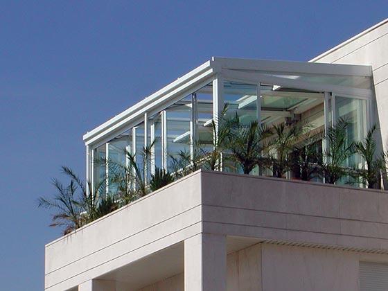 M nica dise os unos lindos cerramientos for Cierres de aluminio para terrazas
