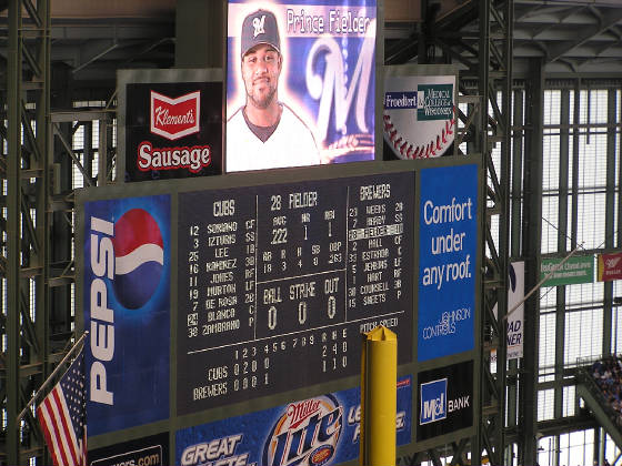 the new scoreboard (with