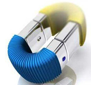 Accordion USB flash drive