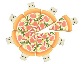 piza usb flash drive