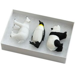 Endangered animals USB Flash Drive Trio 32GB