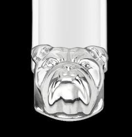 Dunhill Bulldog dog  steel USB flash drive
