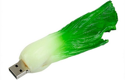 USB Cabbage thumb drive