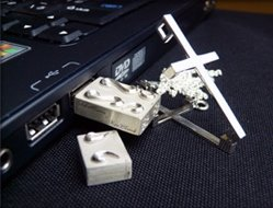 Silver Cross USB flash drive