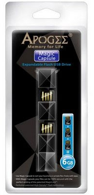Magic Capsule USB thumb drive