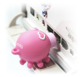 Kissing Octopus USB memory stick