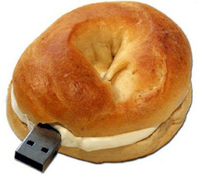 Bagel Jewish USB flash drive