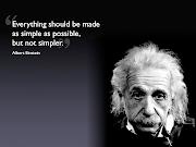 EINSTEIN & SIMPLICITY