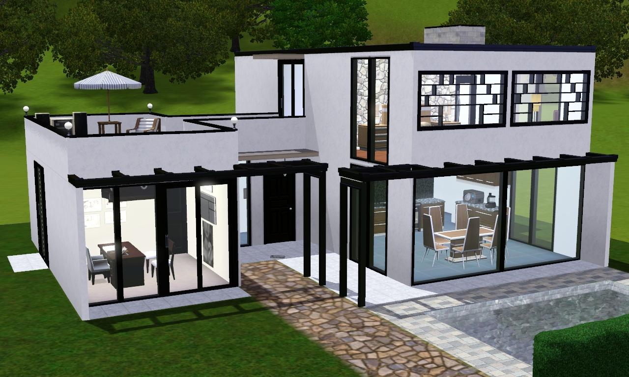 Linha Modernas Casa 1 Morar Bem No The Sims 3