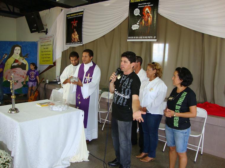 RETIRO DE ESPIRITUALIDADE DA  PASTORAL DIOCESANA
