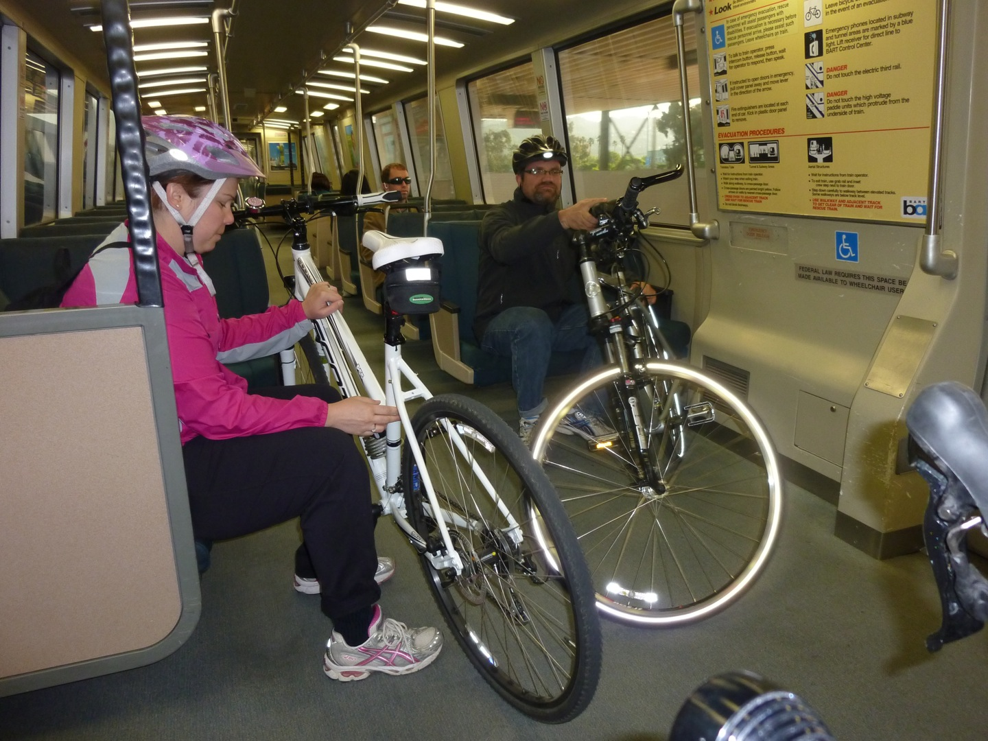 Bikes On Bart Once you ve made it to the