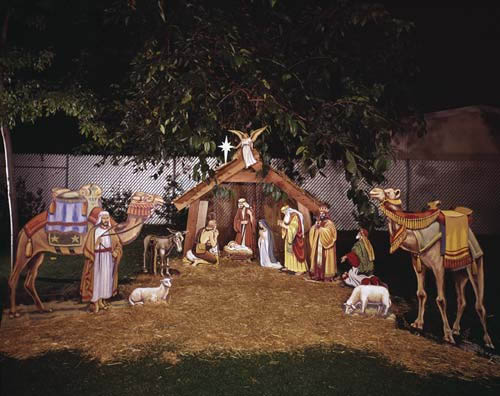 Deck The Holiday 39 S How Nativity Displays Began