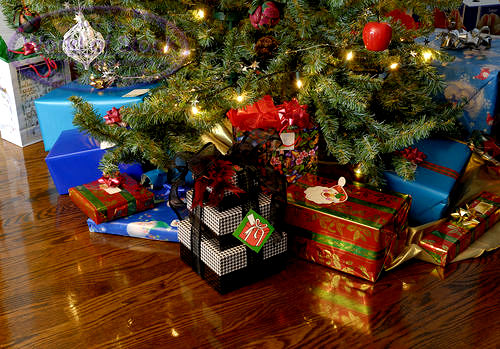 Deck the holiday s history of christmas gift giving