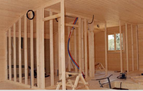 Maestros de construcci n ryc construcci n remodelaci n y mantenci n de casas y otros - Tabiques de madera ...