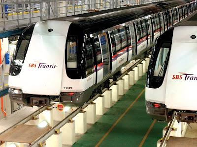 SBS transit and SMRT(MRT SYSTEM STARTED>>>7 NOVEMBER 1987)