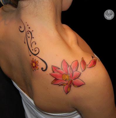 tattoos flores