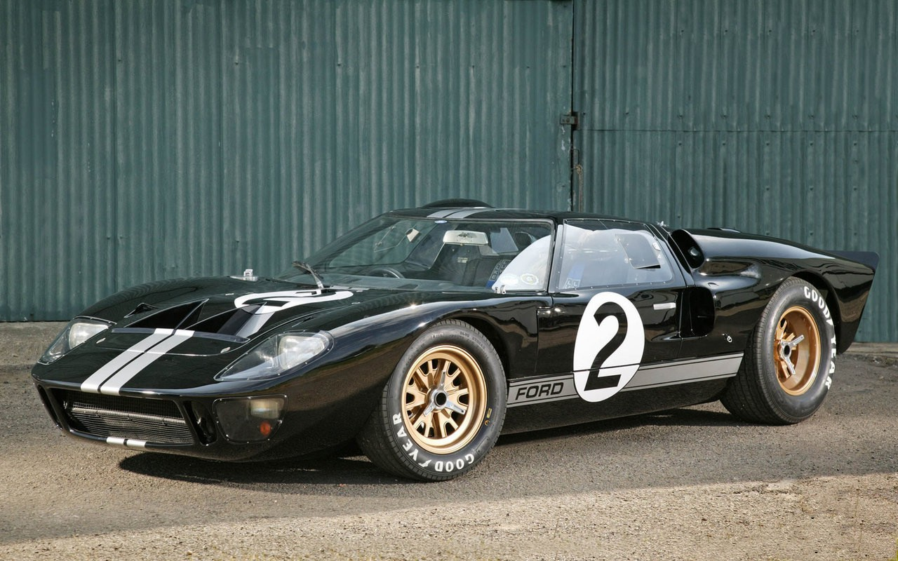 1968 Ford GT40 sports car
