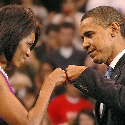oh barack michelle fist
