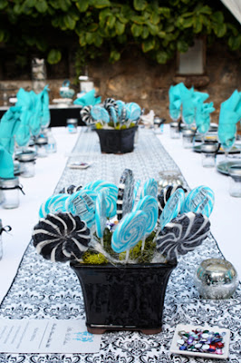 Whirly Pop Centerpieces