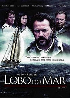 Filme Poster Lobo do Mar DVDRip XviD Dual Áudio & RMVB Dublado