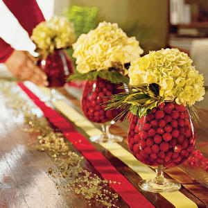 Christmas Table Decoration Ideas on Strictly Simple Style  Thanksgiving To Christmas Table Transition
