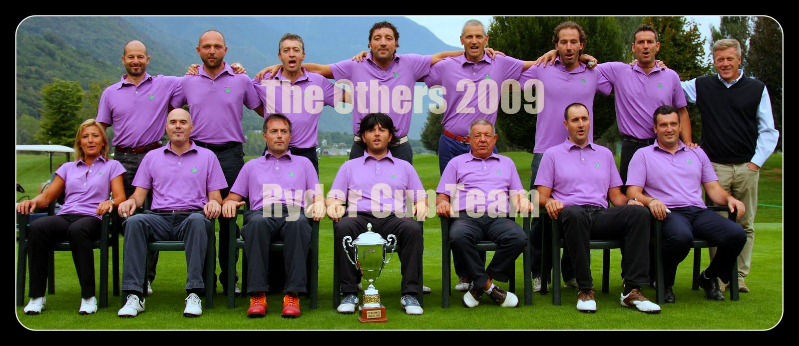 The Others  il team vincente del 2006,  2007 e 2008 della caiolo ryder cup