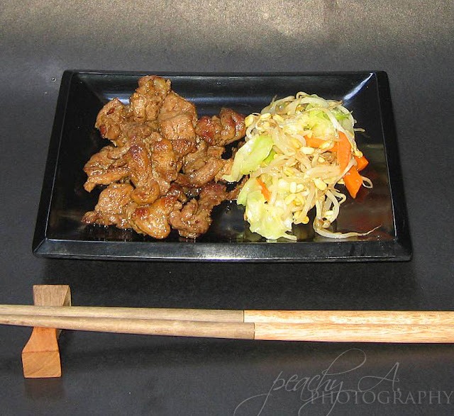 Beef Misono and Vegetable Misono