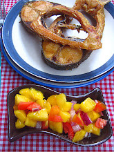 Thumbnail image for Fried Fish & Mango Salsa
