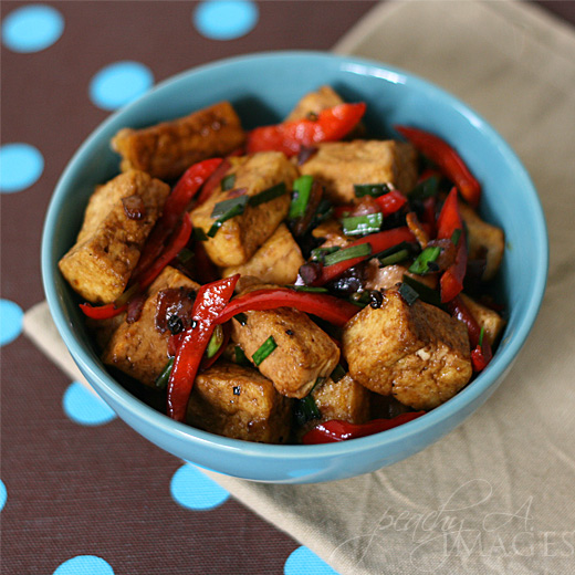Black Pepper Tofu | The Peach Kitchen