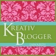 My 1st Kreativ Blogger Award