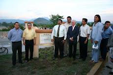 350 aniversario  de la ciudad Asilo de el Rosario, y yo organizando, je je je... (a la derecha)