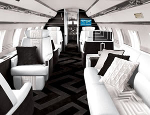 Versace and Tag Aircraft Interiors