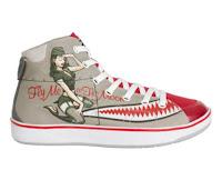 Pin-Up Girl Sneakers