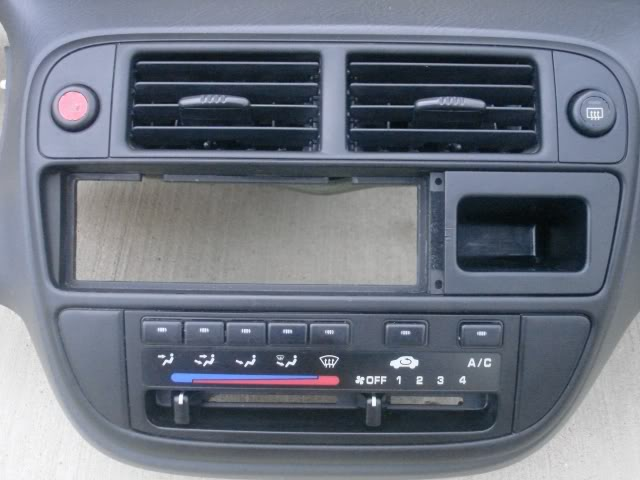 Sold Honda Civic Ej Center Panel Analog Temp Gauge 1996