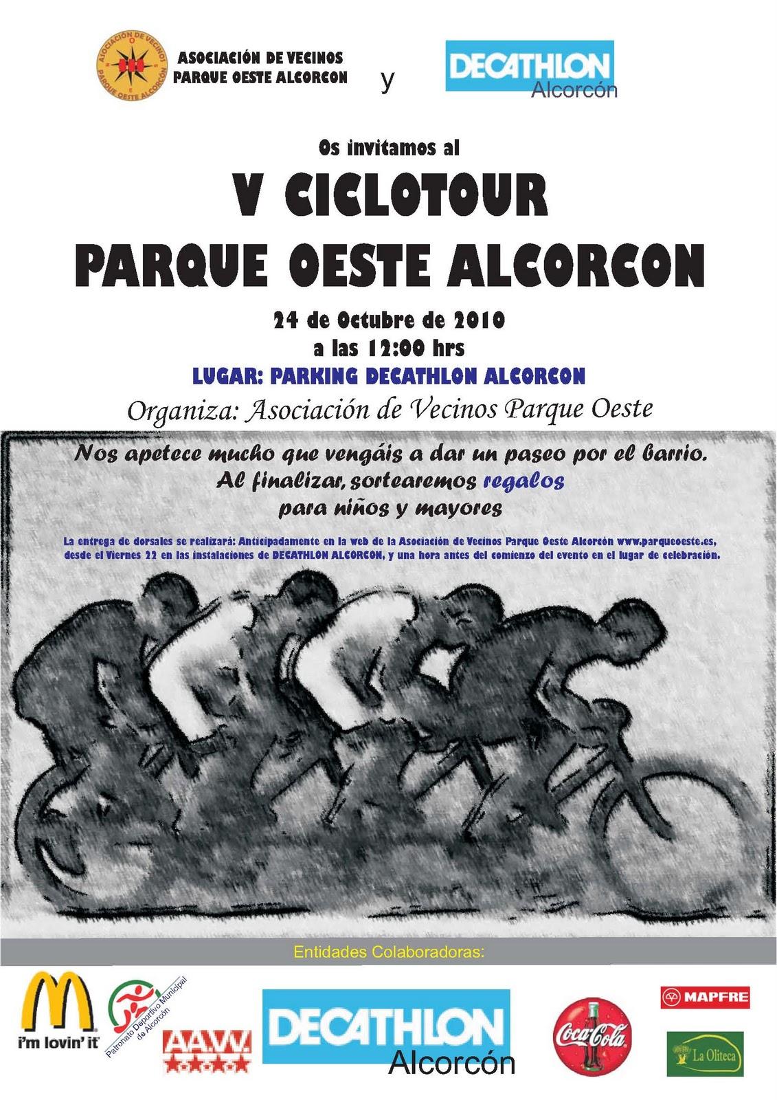 Avv parque oeste alcorc n v ciclotour parque oeste alcorcon - Parque oeste alcorcon ...