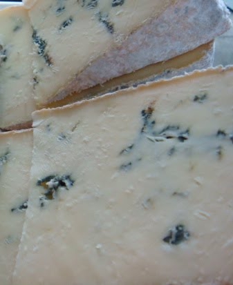 BLUE CHEESES: Gore-Dawn-Zola, Boucher Blue, Madison Blue