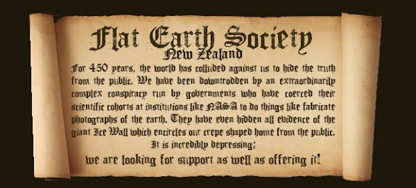 FLAT EARTH SOCIETY NZ