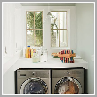 Counter Height In Laundry Room : urban farmgirl: to front load...or not to front load...