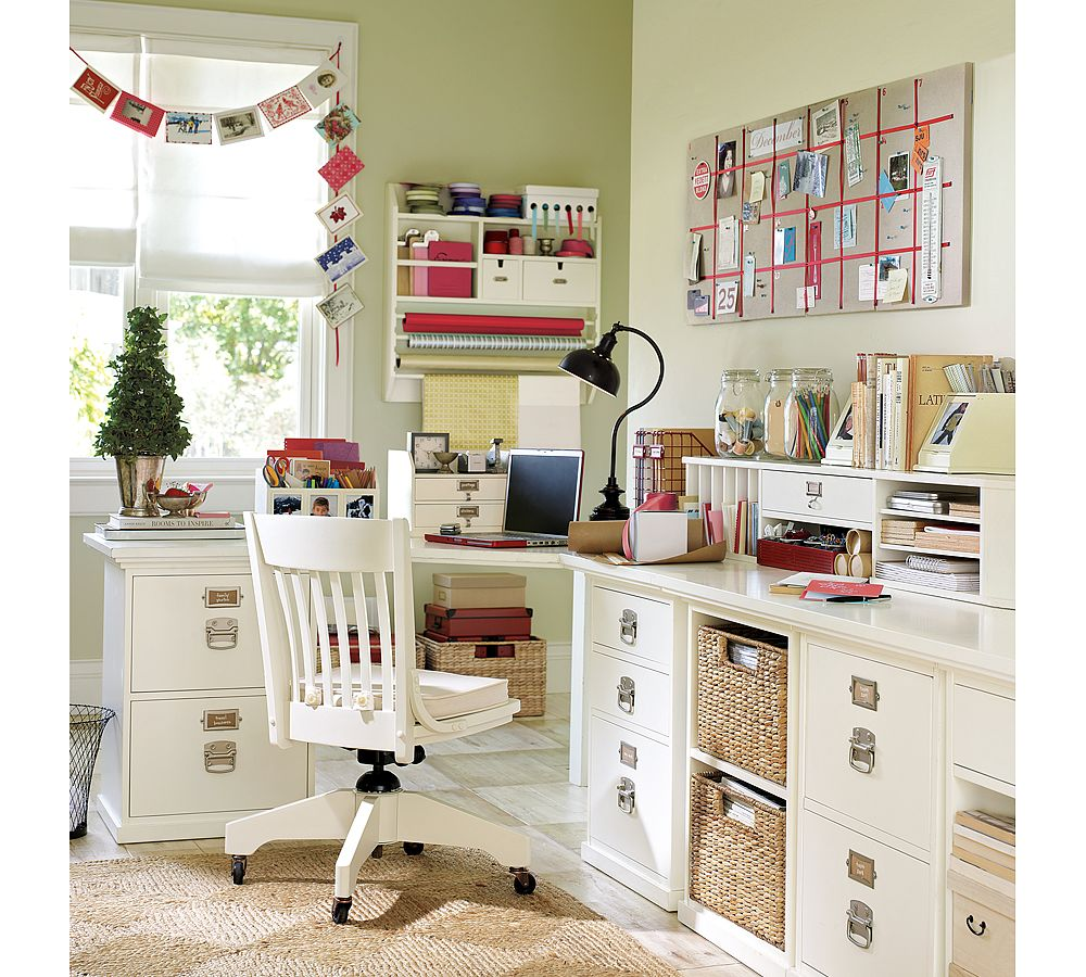 High Quality HOME OFFICE CRAFT ROOM COMBO