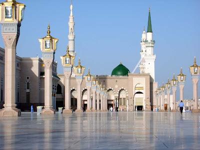 interior-nabawi-masjid-terindah-di-dunia