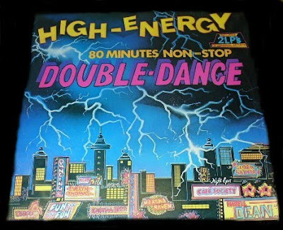 High Energy Double Dance - Volume.1 (2LP Set) 1984 80 Minutes Non-Stop mix