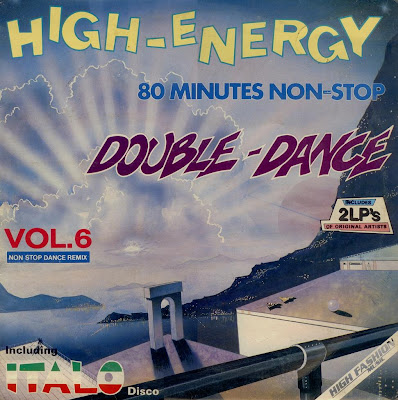 High Energy Double Dance - Volume.6 (2LP Set) c 1986 80 Minutes Non-Stop mix