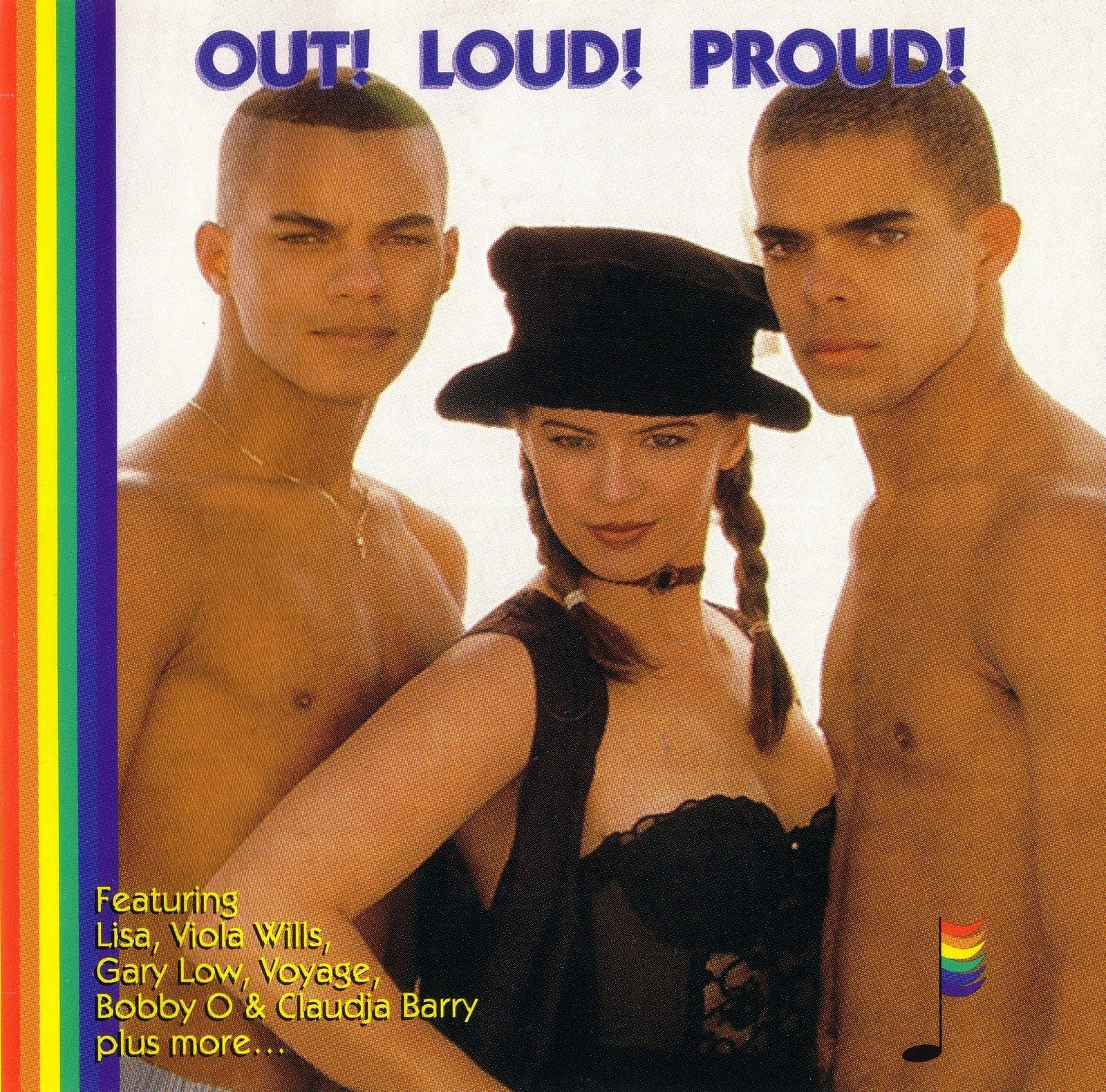 Gay Classics Vol 3 - Out Loud Proud - various artists Hi-NRG 80's Disco ...