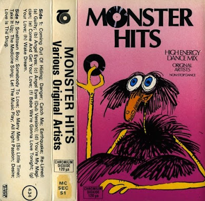 MONSTER HITS - Volume 1 High-Energy Non-Stop Dance Mix 1984 Disco Eurobeat Electro 80's