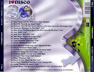 I Love Disco 80's - Vol.4 - Various Artists (2CD Set)