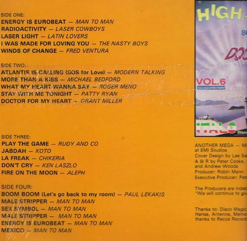 Retro Disco Hi Nrg High Energy Double Dance Volume 7