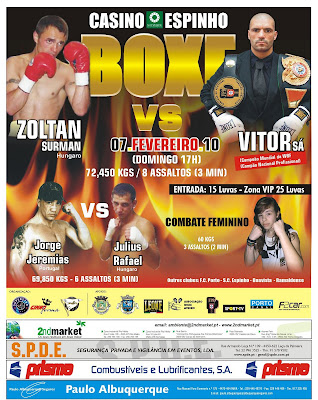 Gala De Boxe Do Casino De Espinho - 07/02/2010 Cartaz_07_fev_10