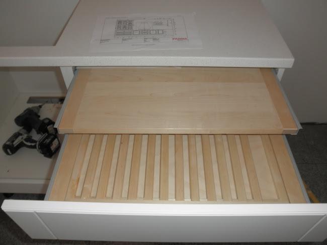 Meillä on leikkuulauta ... hieno leikkuulautalaatikko!