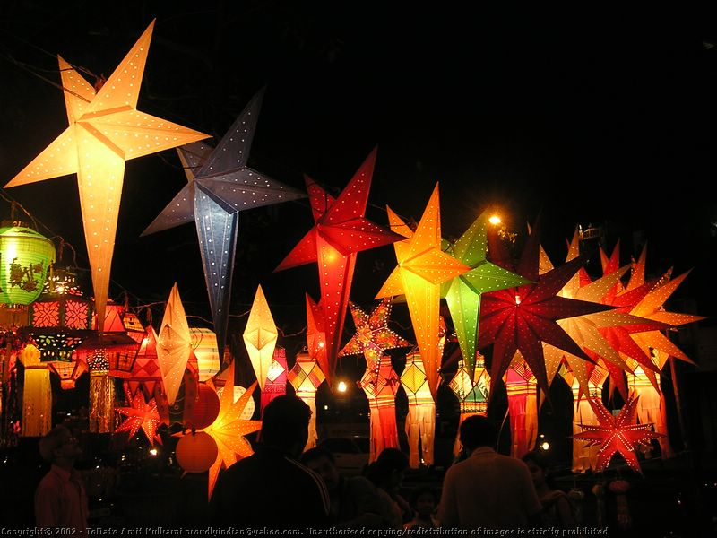 Mayo parties christmas time stars lights google search for Diy star lantern